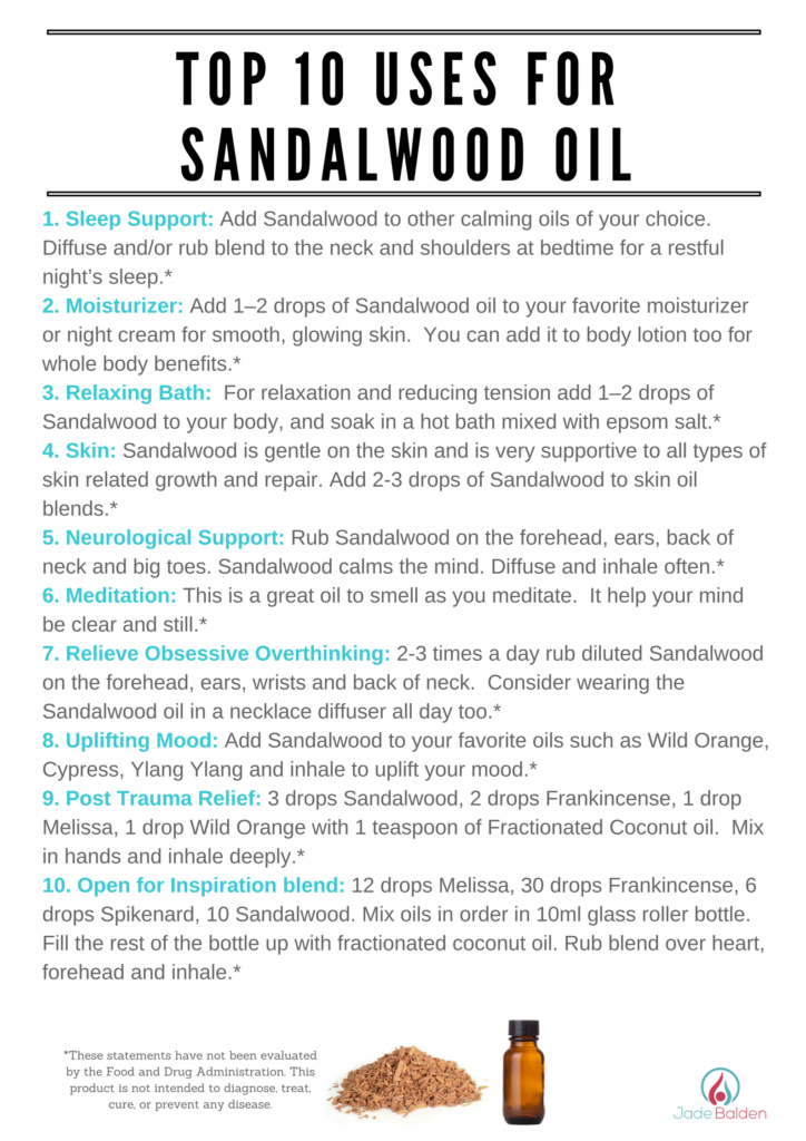 Sandalwood | Jade Balden